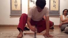 Japanese Calligraphy artist Kazuo Ishii