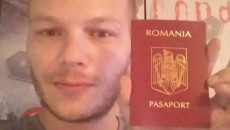 Luciano Ludwig and his Romanian passport.