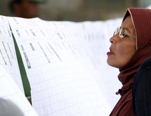 Indonesia's 2009 legislative elections. Credit: Yuli Seperi/propaimages/Flash 90.