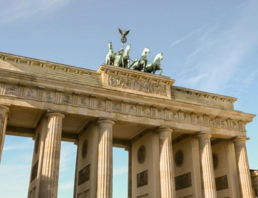 Berlin's Brandenburg Gate. Credit: Nati Shohat/FLASH90.