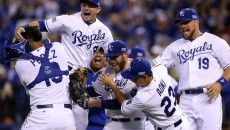World Series 2014: The Royals celebrate their victory over the Angels.