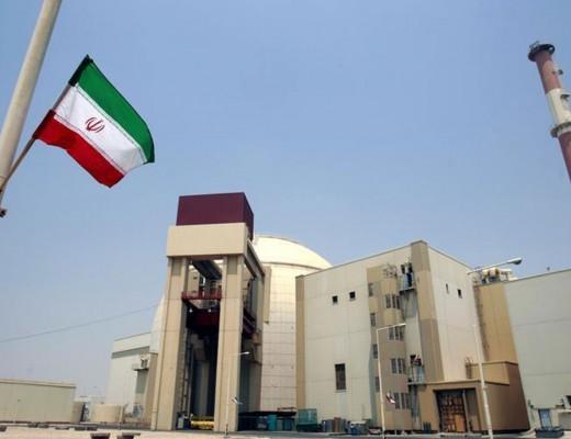 The Bushehr nuclear power plant in Iran.