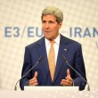 US Secretary of State John Kerry speaks at a July press conference in Vienna.