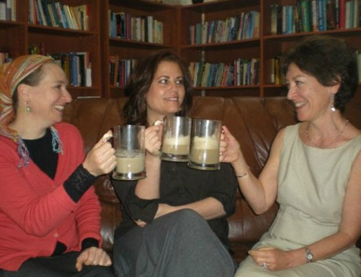 Left to right: Danit Shemesh,Tzippi Sha-ked, and Pamela Peled.