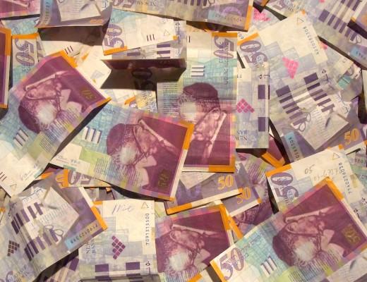 50 Shekel bills