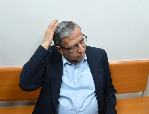 Ramat Gan Mayor Yisrael Zinger at the Magistrate's Court in Rishon Lezion, Dec. 15. Credit: Flash90.