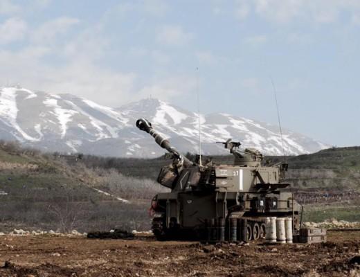 Israeli artillery on the Lebanese border, Jan. 28. Credit: IDF Spokesperson.