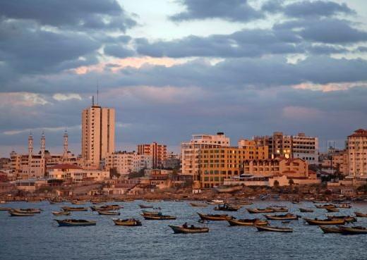 The port of Gaza City, October 2014. Credit: AP.