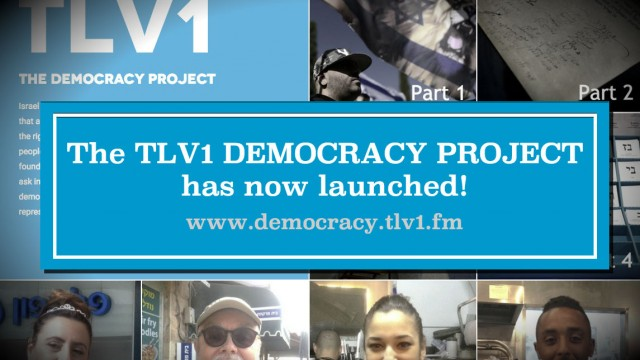 The TLV1 Democracy Project