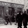 A Jewish-owned shoe shop in Vilna, then Poland, in the interwar period. Credit: Yad Veshem archives.