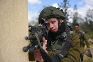 An IDF Gaza border division drill. Credit: Israel Army Spokesperson.