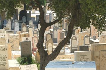 Tel Aviv's Trumpledor cemetery, built in 1902. Credit: Moshe Shai/FLASH90.