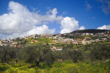 Maghar Village, Upper Galilee, Israel.