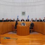 A general view of the supreme court hall. Photo by Gili Yohanan/POOL
